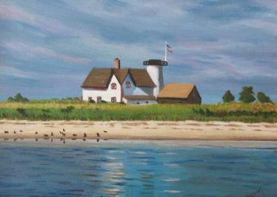 Lighthouse at Hardings Beach