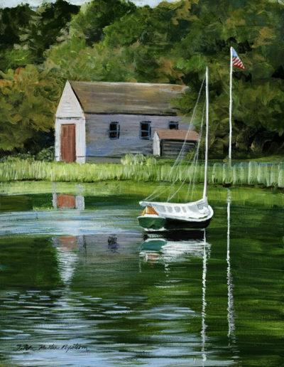 Arey's Pond Catboat