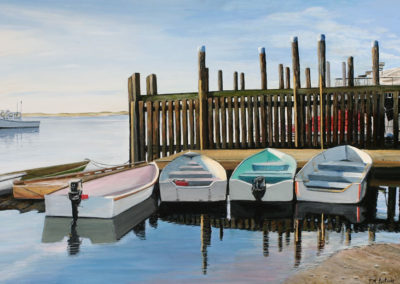 Dinghies at Rest