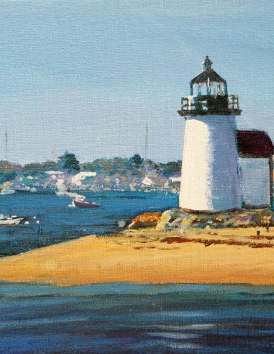 Entering Nantucket Harbor